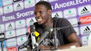 Fabrice N'Sakala'nın basın toplantısı