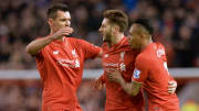 Dejan Lovren, Adam Lallana and Nathaniel Clyne - three of the Reds' signings from Southampton