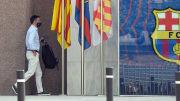 Bartomeu fue detenido por la policía catalana