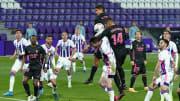 Casemiro hizo a balón parado el gol de la victoria del Real Madrid
