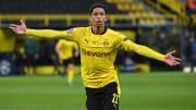 Joia do BVB, Bellingham se tornou o segundo jogador mais jovem a marcar em uma eliminatória da Champions League.