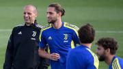 L'allenamento della Juventus