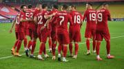 Türkiye'nin gol sevinci