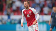 Christian Eriksen is recovering after collapsing against Finland