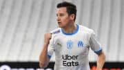 Florian Thauvin celebra un gol.