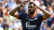 Gaëtan Laborde cette saison avec Montpellier.