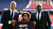 Kylian Mbappe with younger brother, Ethan