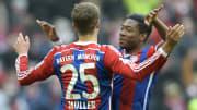 Thomas Muller & David Alaba have each won 10 Bundesliga titles