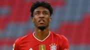 Kingsley Coman avec le Bayern Munich cette saison