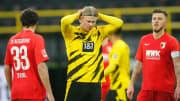 Haaland desfalcou o Dortmund nos últimos jogos