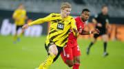 Erling Haaland kala melawan Bayern Munchen