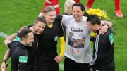 Manuel Gräfe nach seinem letzten Bundesliga-Spiel