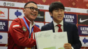 Mochamad Iriawan dan Shin Tae-yong