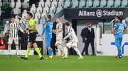 L'arbitro Sacchi in Juventus-Spezia