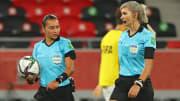 Edina Alves e Neuza Back, a melhor arbitragem do Brasil.