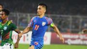 Sunil Chhetri is the highest goalscorer at the SAFF Championship
