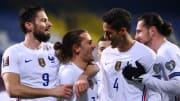 La France prend le large grâce à un but d'Antoine Griezmann