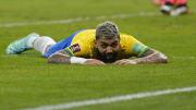 Gabigol está representando a Seleção Brasileira