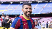 Aguero took a huge pay cut when joining Barcelona
