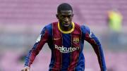 Dembélé tiene un año de contrato con el Barcelona