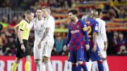 Arturo Vidal, Hernandez Hernandez, Lionel Messi, Sergio Ramos