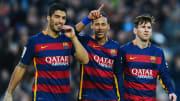 Neymar, Luis Suarez, Lionel Messi au FC Barcelone