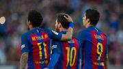 Lionel Messi, Neymar, Luis Suarez