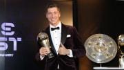 Déjà élu meilleur joueur par la FIFA, Lewandowski mène logiquement l'équipe de l'année UEFA.
