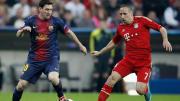 Lionel Messi, Franck Ribery