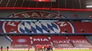 Saisonfinale vor Zuschauern in der Allianz Arena