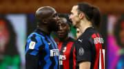 Romelu Lukaku dan Zlatan Ibrahimovic