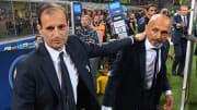 Massimiliano Allegri e Luciano Spalletti