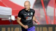 Hängt seine Fußballschuhe endgültig an den Nagel: Arjen Robben