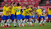 Brasil irá enfrentar a Espanha na decisão | FOOTBALL-OLY-2020-2021-TOKYO-MEX-BRA