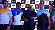 Ronaldinho, Ryan Giggs and Paul Scholes were part of the Premier Futsal tournament in India