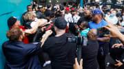 Floyd Mayweather v Logan Paul - Media Availability