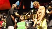 Floyd Mayweather v Logan Paul - Weigh In