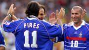 Robert Pirès, champion du monde en 1998 et champion d'Europe 2000 est une légende du football français