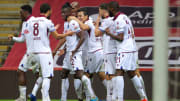 Trabzonspor'un gol sevinci