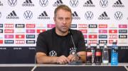 Hansi Flick auf der PK vor seinem ersten Spiel als Bundestrainer