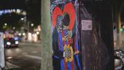 Graffitis In Barcelona