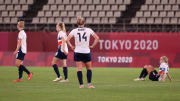 Team GB bowed out after a thrilling contest with Australia