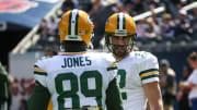 Aaron Rodgers and James Jones