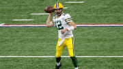Aaron Rodgers, Green Bay Packers v Indianapolis Colts