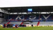 Das Holstein-Stadion in Kiel.