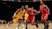 Kobe Bryant, Shane Battier, Chuck Hayes