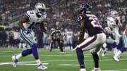Texas y Cowboys chocan en la pretemporada de NFL