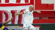 Norberto Briasco jugando en Huracán