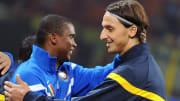 Ibrahimovic e Eto'o mudaram de clube em 2009