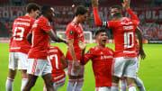 Internacional goleou o Olimpia por 6 a 1 no Beira-Rio